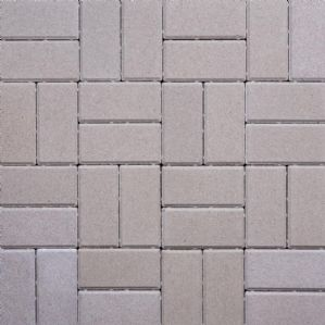 200x100x50mm THICK RECTANGULAR BLOCK PAVING, GREY